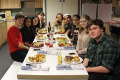 Flatmas Meal 2016